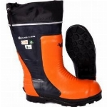 Botte de protection forestiere pour la scie a
