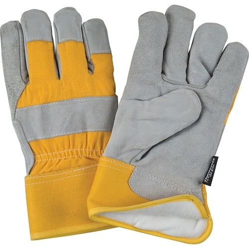 Gants d'ajusteur en cuir de vache refendu doublés de Thinsulate(MC)