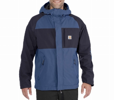 MANTEAU ANGLER DARK BLUE/NAVY GR. XL