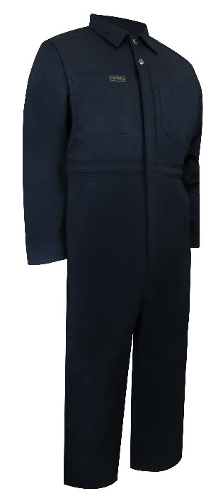 COVERALL DOUBLÉ ZIP/JAMBES 4XL